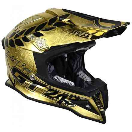 J12 Tim Gajser Replica Gold Edition Helm Just1