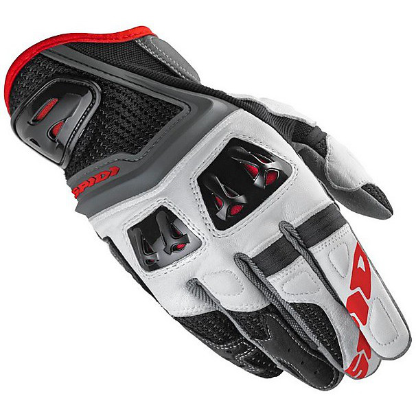 Jab RR Gloves black- white Spidi