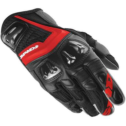 Jab RR red-black Gloves Spidi
