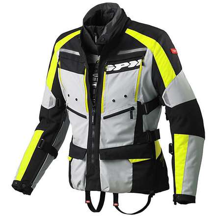 Jacke 4Season h2Out Gelb Fluo Spidi