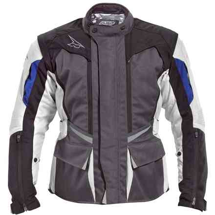 Jacke Atlantis grey/blue/black Axo