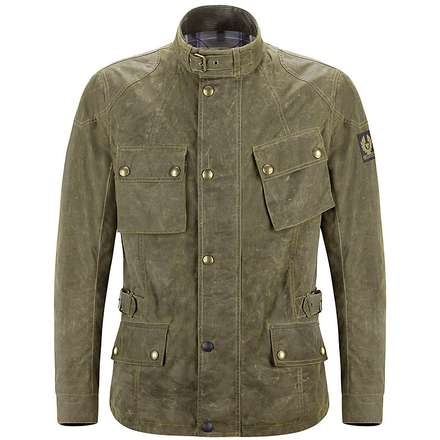 Jacke Crosby British racing Green Belstaff