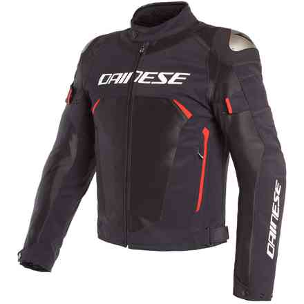 Jacke Dinamica Air D-Dry Schwarz Rot Dainese