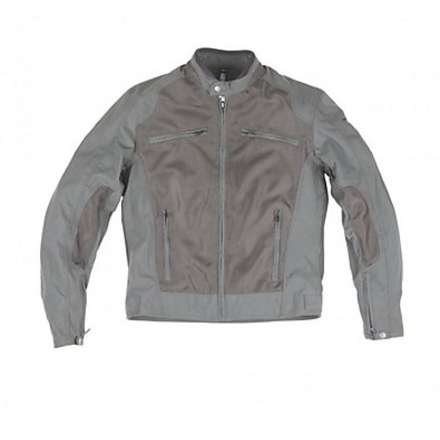 Jacke District Grau Helstons