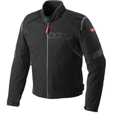 Jacke Flash  H2Out Schwarz-anthrazit Spidi