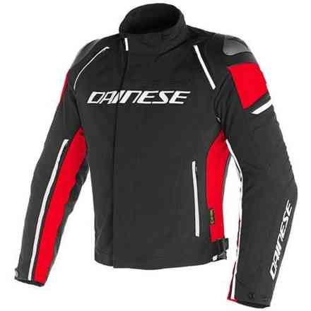 Jacke Racing 3 D-Dry Schwarz Rot Dainese