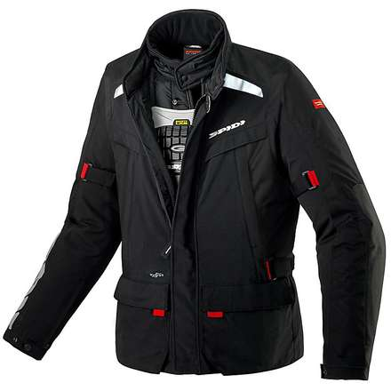 Jacke Superhydro H2Out Scharz Spidi