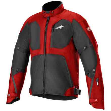 Jacke Tailwind Air Wp  Tech-Air Comp. Rot Schwarz Alpinestars