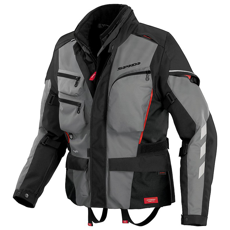 Jacke Voyager 3 H2Out Grau Spidi