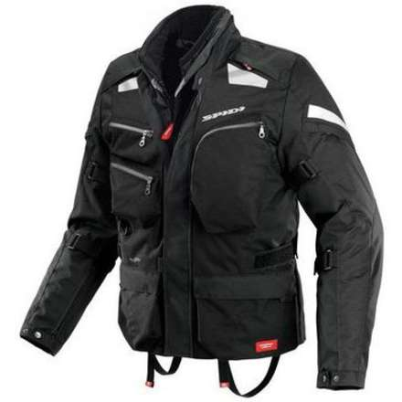 Jacke Voyager 3 H2Out Schartz Spidi