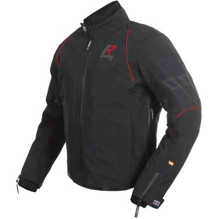 Jacket Armarone Black Red RUKKA