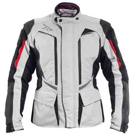 Jacket Atlantis Woman Black/Grey/Red Axo