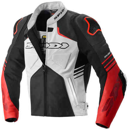 Jacket Bolide Black Red Spidi