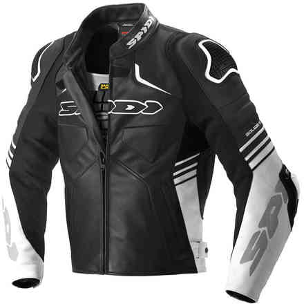 Jacket Bolide Black White Spidi