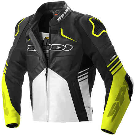 Jacket Bolide Black Yellow Fluo Spidi