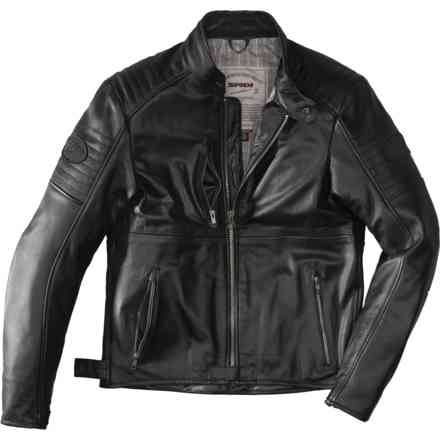 Jacket Clubber Deep Black Spidi