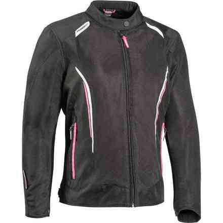 Jacket Cool Air C Lady Black White Pink Ixon