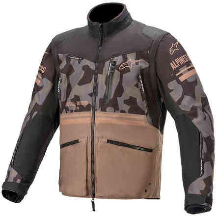 Jacket Cross Venture R Mud Camo Sand Alpinestars