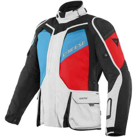Jacket D-Explorer 2 Gtx Glacier Gray Blue Lava-Red Dainese