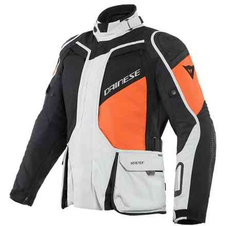 Jacket D-Explorer 2 Gtx Glacier Gray Orange Black Dainese