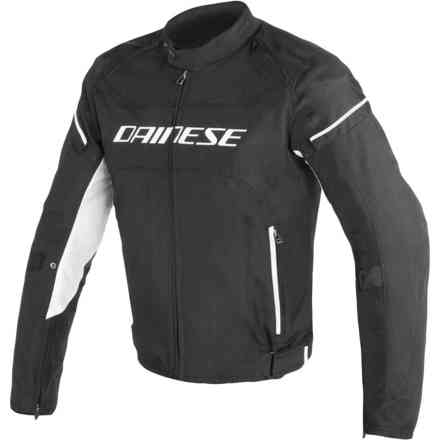 Jacket D-Frame Tex black white Dainese