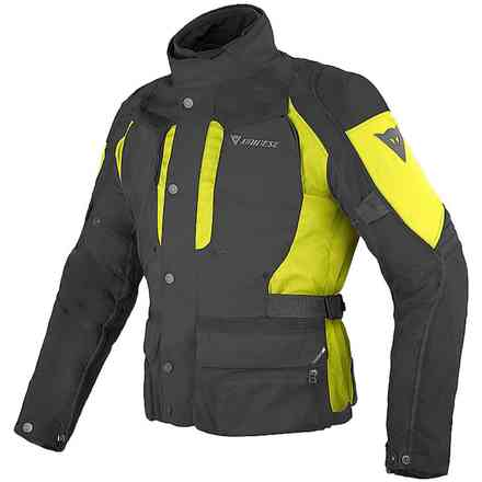 Jacket D-Stormer d-dry black yellow Dainese