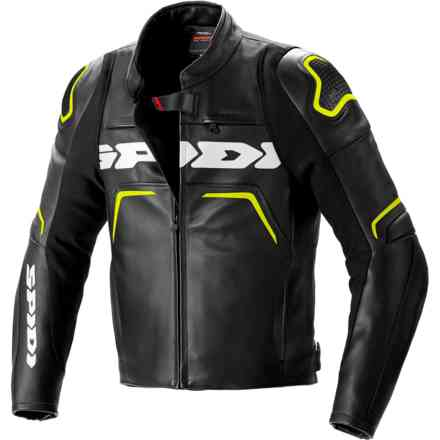 Jacket Evorider 2 Black Yellow Fluo Spidi