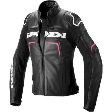 Jacket Evorider 2 Lady Black Fuchsia Spidi