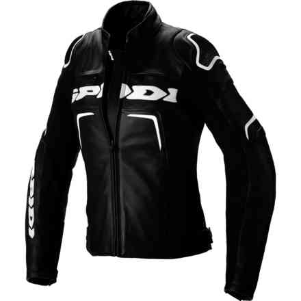 Jacket Evorider 2 Lady Black White Spidi