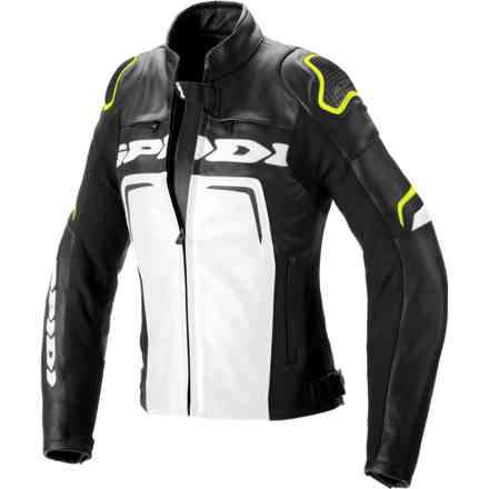 Jacket Evorider 2 Lady Black Yellow Fluo Spidi