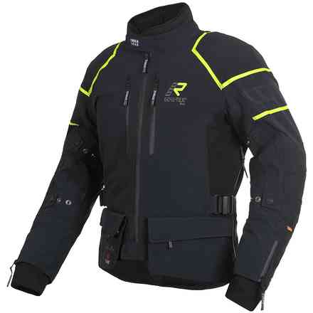 Jacket Exegal Black Yellow RUKKA