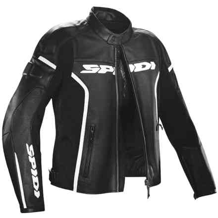 Jacket Gp Wind Black White Spidi