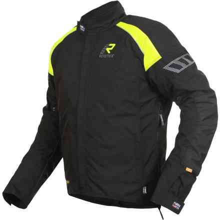 Jacket Herm Black Yellow RUKKA