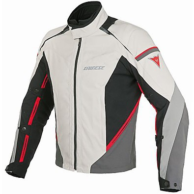 Jacket Rainsun peyote-black-red Dainese