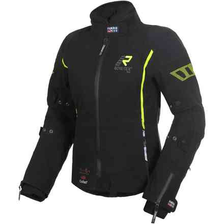 Jacket Spektria Black Yellow RUKKA