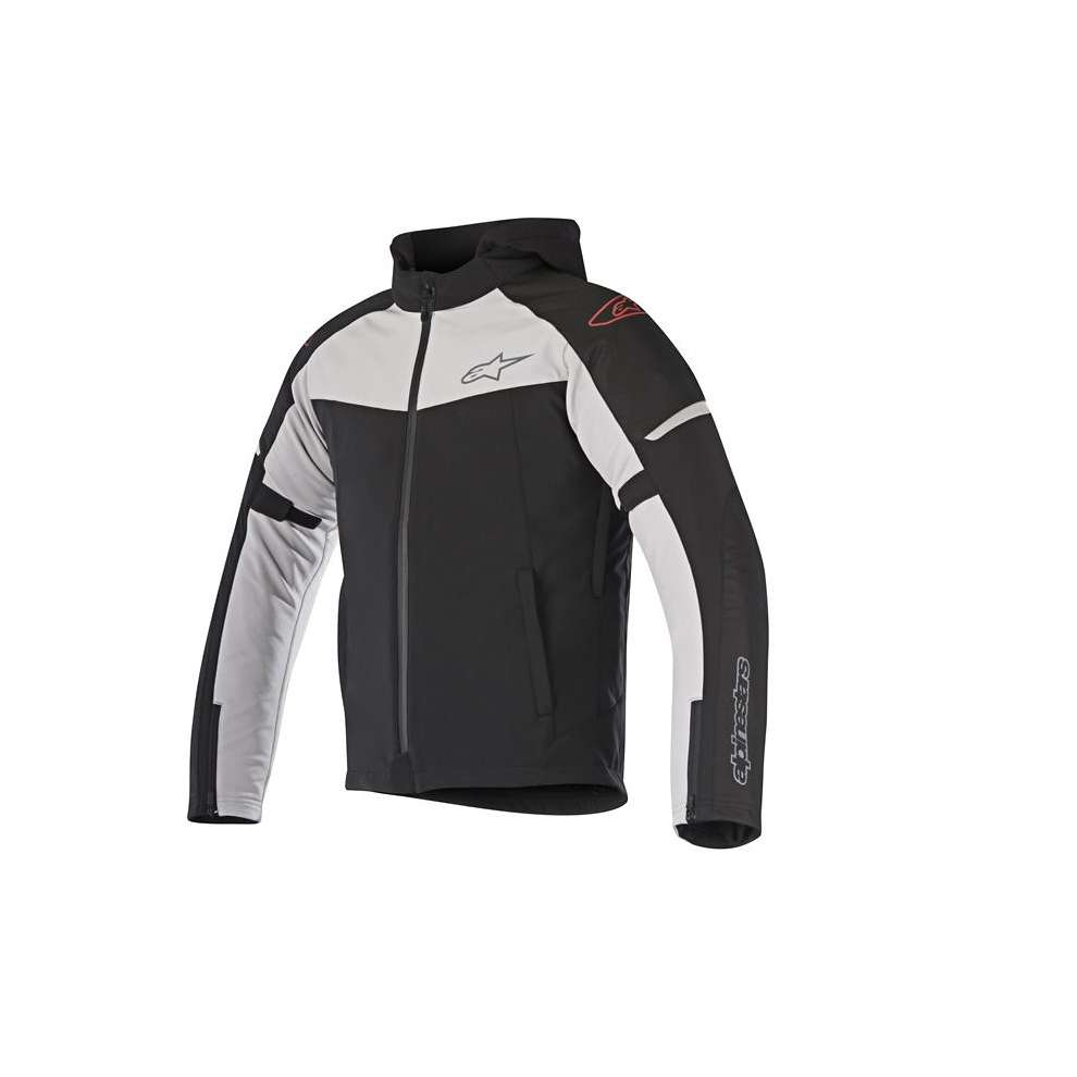 Jacket Stratos Techshell Drystar black gray Alpinestars