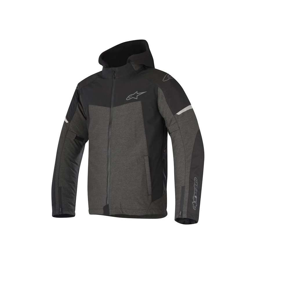 Jacket Stratos Techshell Drystar gray black Alpinestars