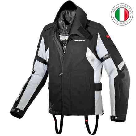 Jacket Super Gt Black Gray Spidi