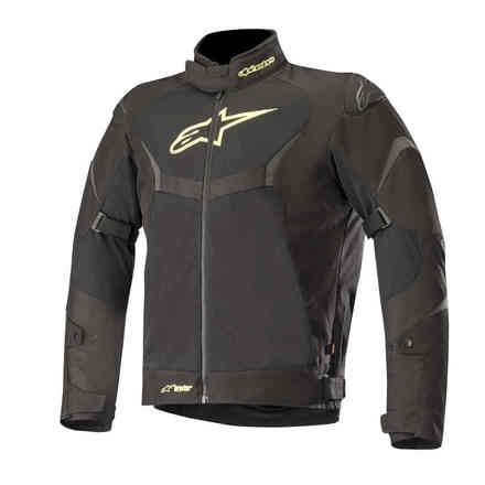 Jacket T-Core Air Drystar Black Yellow Fluo Alpinestars