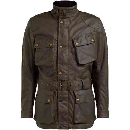 Jacket Trialmaster Pro Black Brown Belstaff
