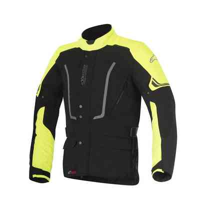 Jacket Vence Drystar black yellow Alpinestars