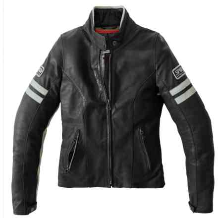 Jacket Vintage Lady Ice Black Spidi