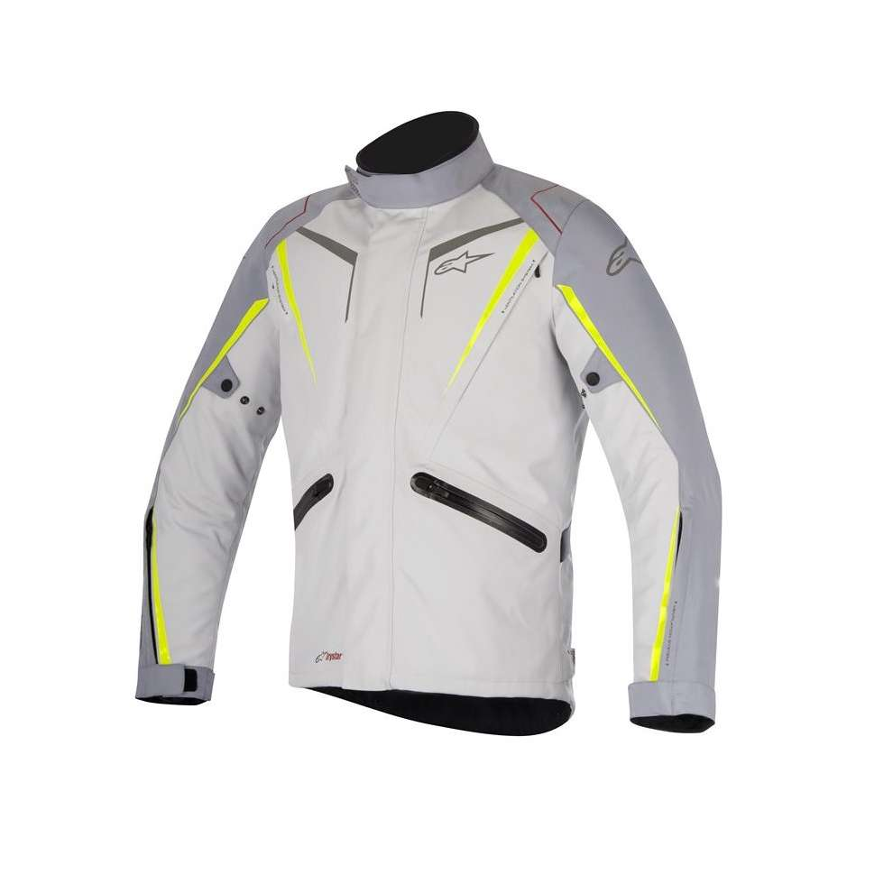 Jacket Yokohama Drystar gray yellow Alpinestars
