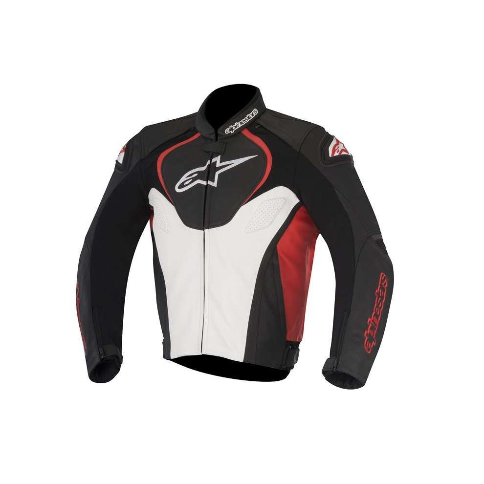 Jaws black white red Jacket  Alpinestars