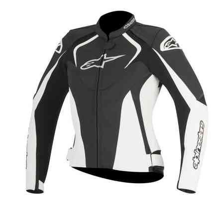 Jaws lady black white Jacket  Alpinestars