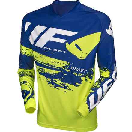 Jersey Cross Draft Gelb Blau Ufo