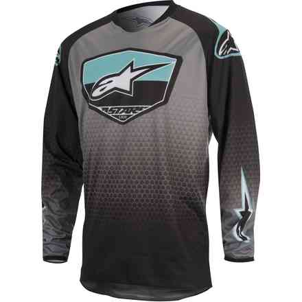 Jersey cross Racer Supermatic black-grey Alpinestars