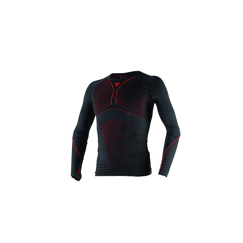 Jersey  D-Core Thermo Tee LS black-red Dainese