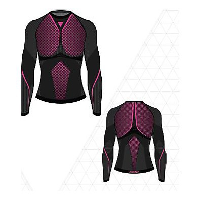 Jersey  D-Core Thermo Tee LS lady Dainese