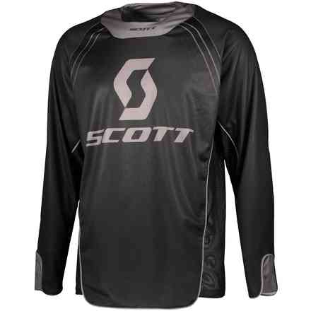 Jersey Enduro Black Grey Scott